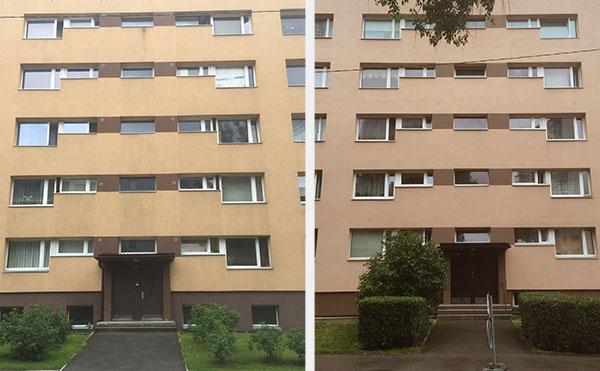 Der er altså ikke stor forskel på de to bygninger.