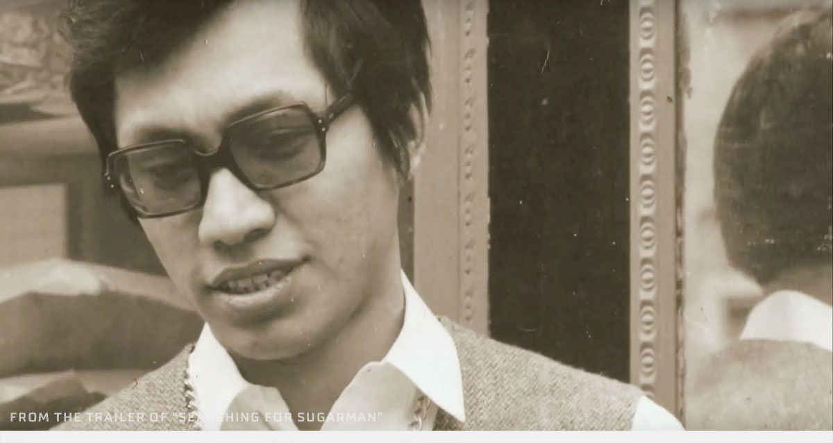 Den unge Sixto Rodriguez i 1970