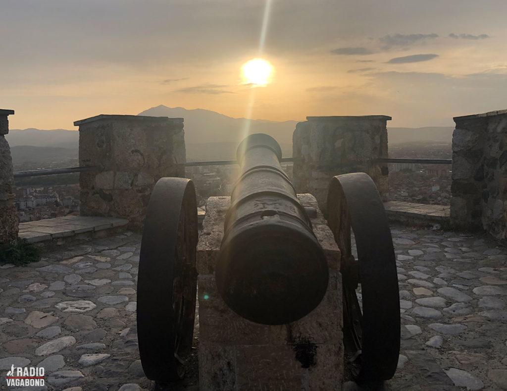 Kanoner ved Prizren Fortress