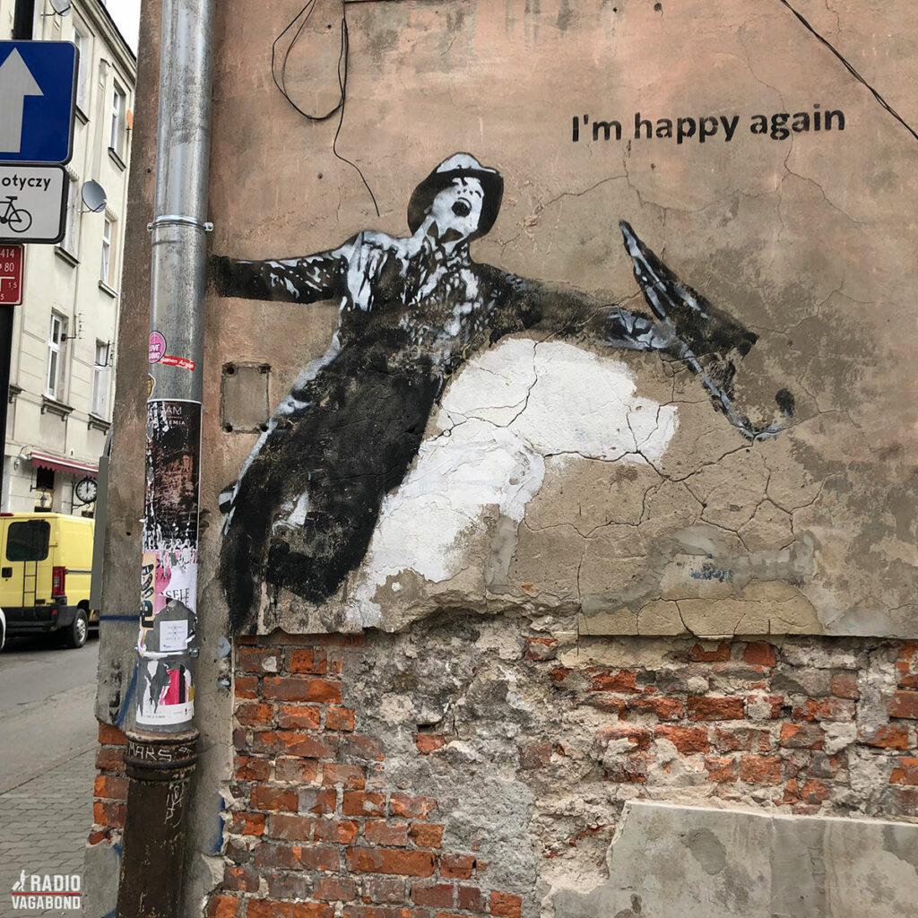 Street art i Krakow