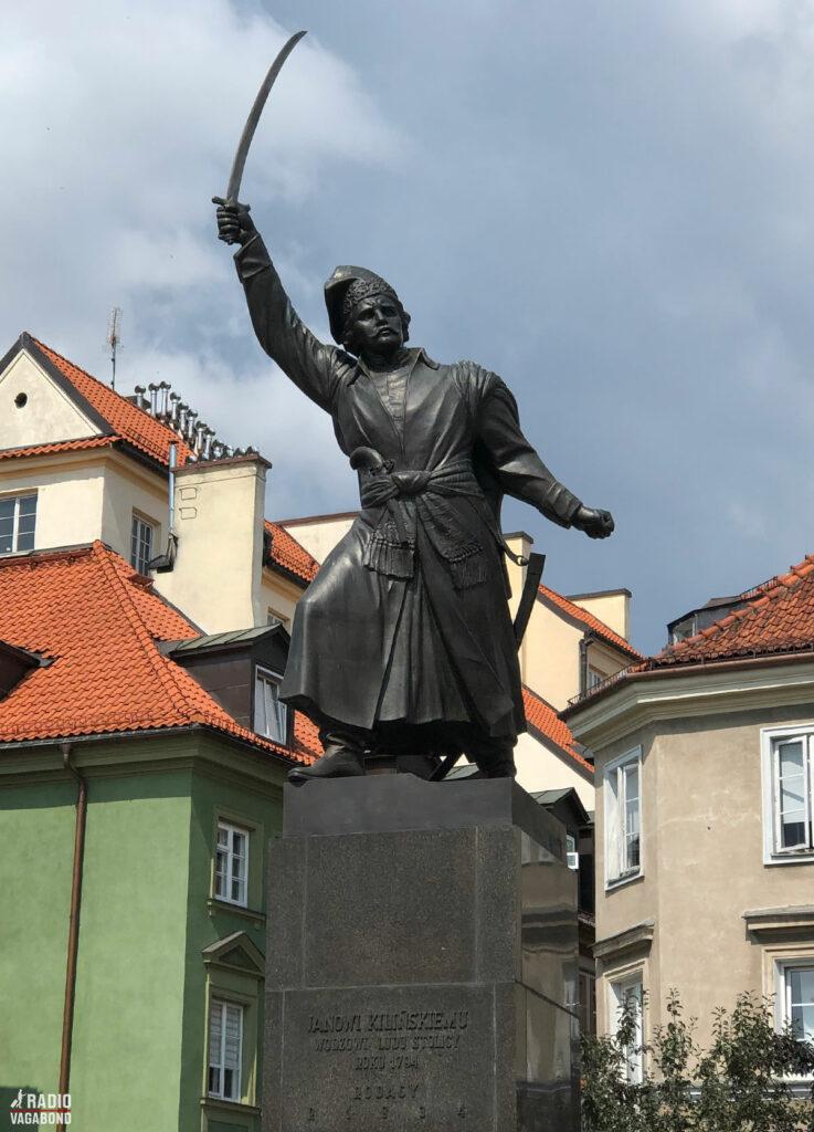 Statue af Pomnik Jana Kilińskiego