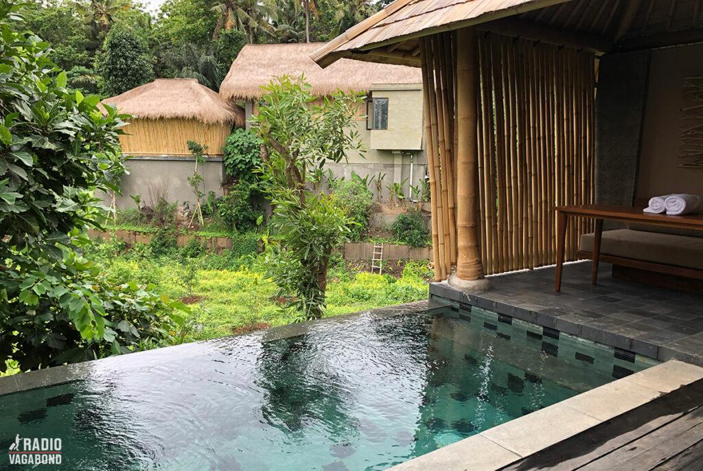 """Min private pool med udsigt til den nye """"Signiture Suite"""""""