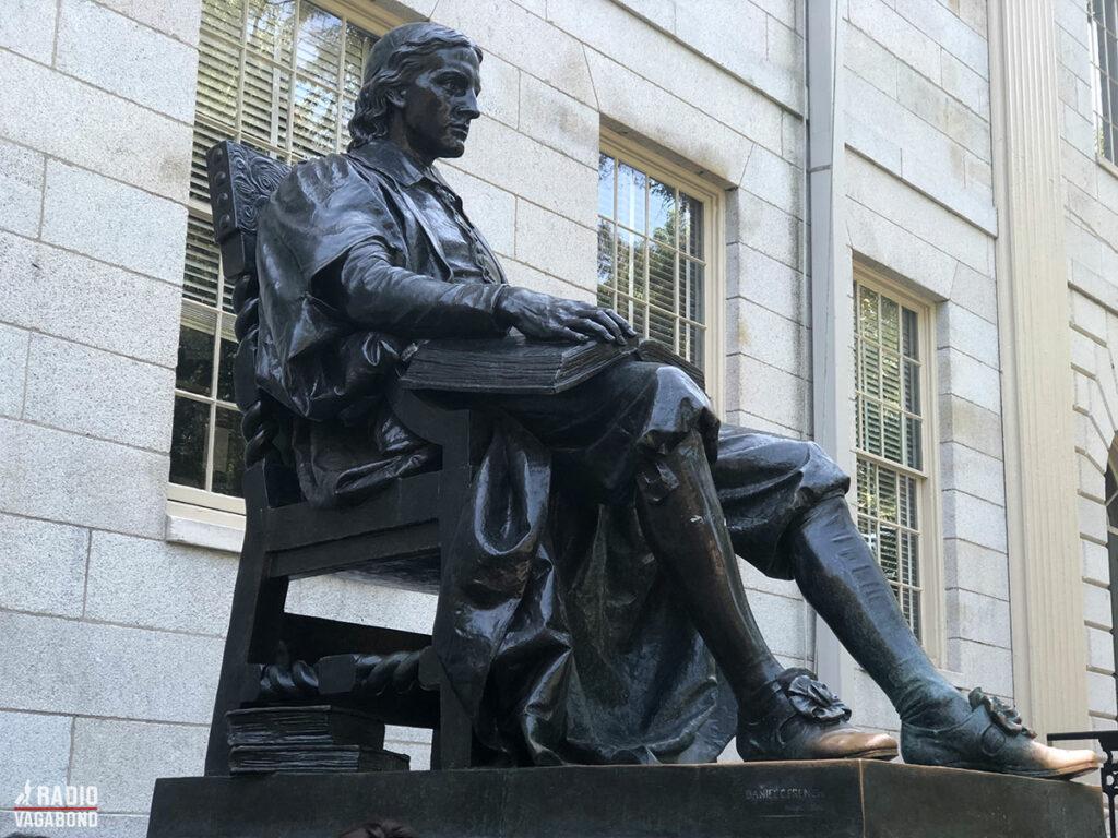 John Harvard grundlagde Harvard University i 1636