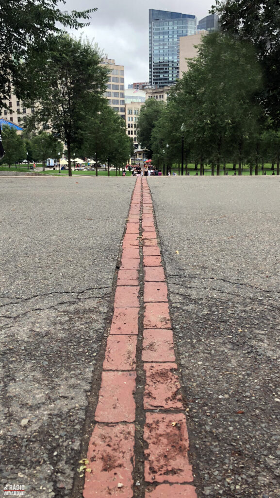Follow the red bricks on The Freedom Trail