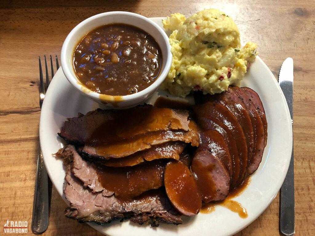 Alting er større i Texas – også tallerkenerne