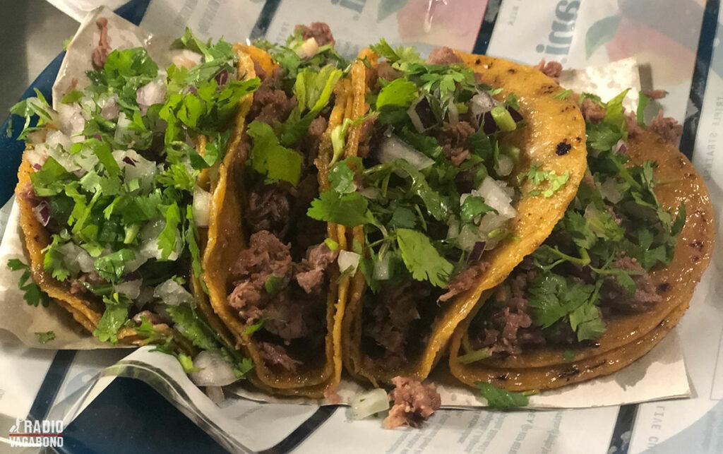 Jeg var på en original mexicansk taco restaurant – ekstremt godt!