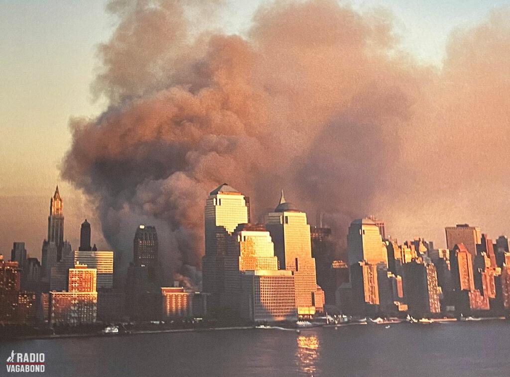 Manhattan skyline under angrebet.