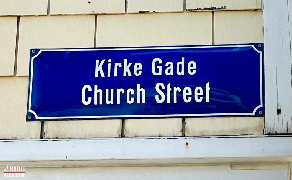 Kirkegade i Christiansted