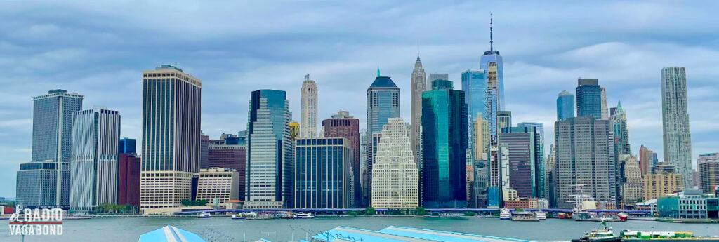Jeg bliver aldrig træt af at se Manhattans ikoniske skyline